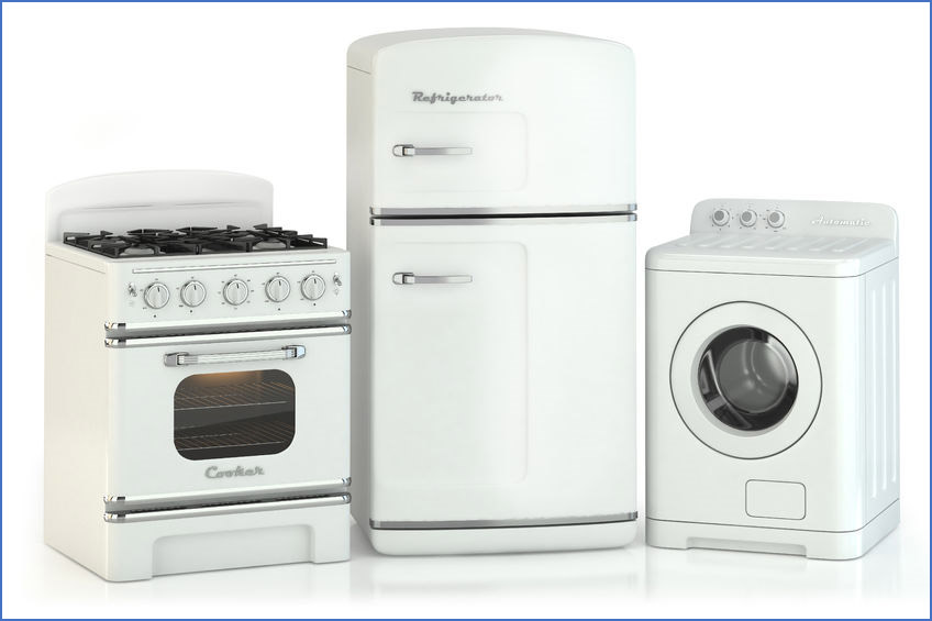 A picture containing indoor, cabinet, appliance, white  Description generated with very high confidence