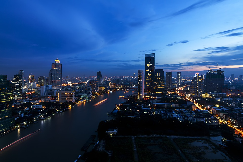 City, Bangkok, Thailand, Asia, Skyscraper, Architecture